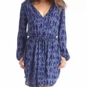 NWT Blue Patterned The Gap Dress